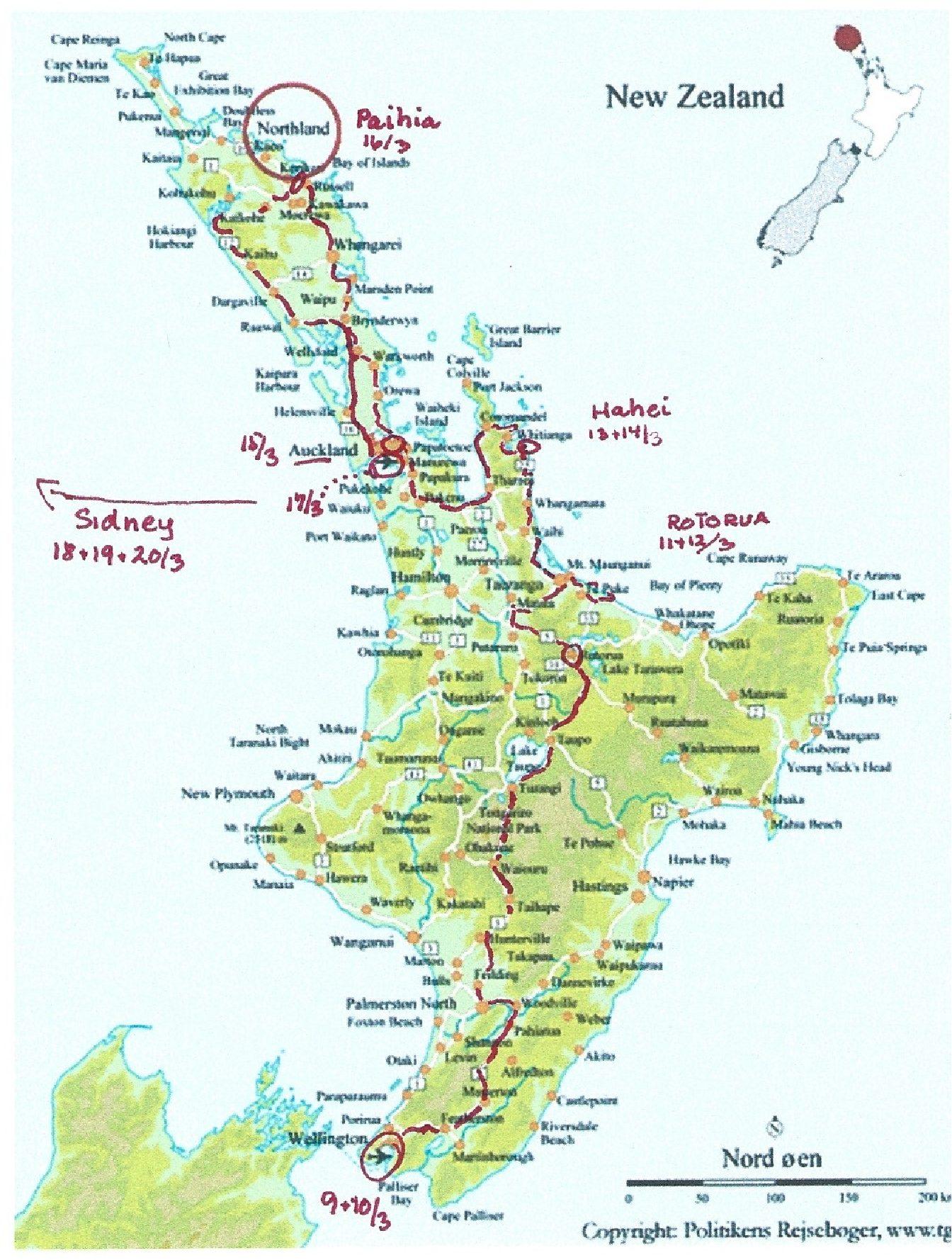 Rejser Rejseblog New Zealand